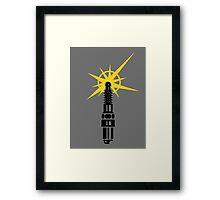 Spark Plug VRS2 Framed Print