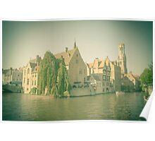 Bruges - Belgium Poster