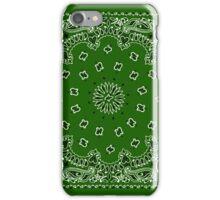 Kelly Green Hanky,Handkerchief iPhone Case/Skin