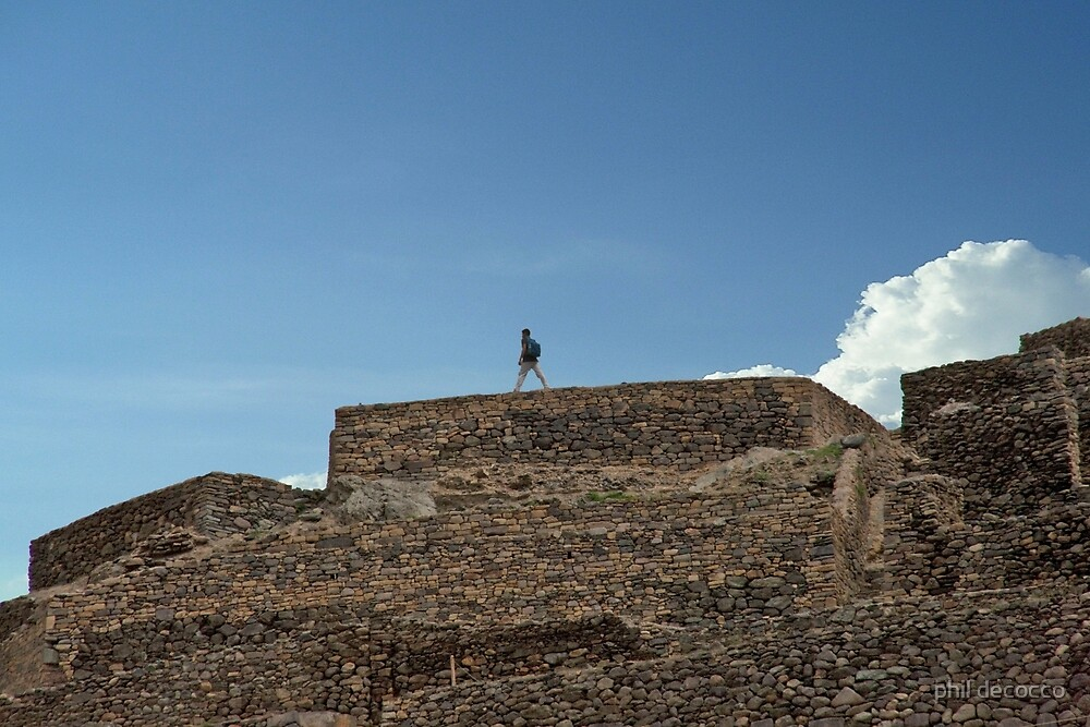 Top Of The Incan World by phil decocco