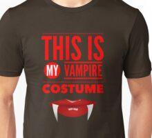 Funny Halloween TShirt Hoodie Costume This is my Vampire Costume Unisex T-Shirt