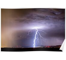 Lightning Strikes Following the Rain  Poster