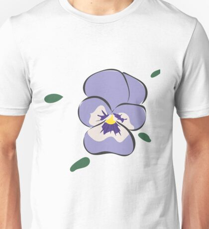Purple Bloom Unisex T-Shirt