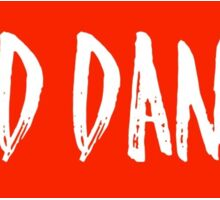 Red Dance Sticker