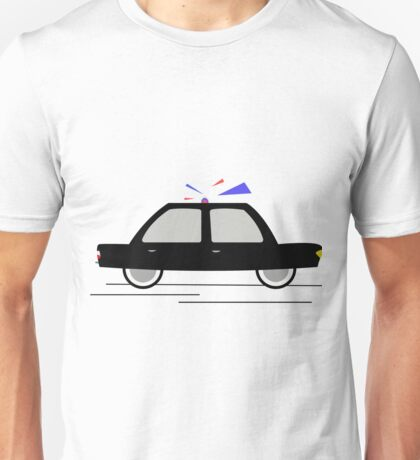 Travel In The Speed Of A Police Car Unisex T-Shirt