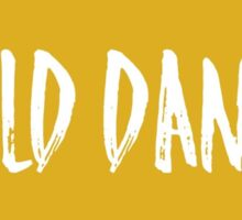 Gold Dance Sticker