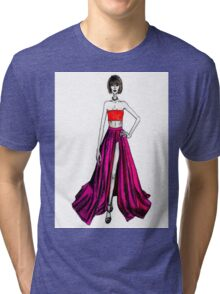 Taylor Swift at the Grammys Tri-blend T-Shirt