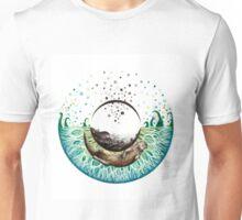 Blue-Green Otter Eye Unisex T-Shirt