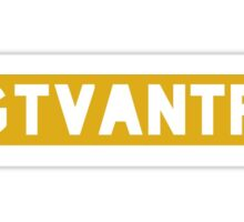 #GTVANTFW Sticker