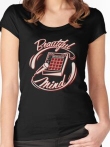 Beautiful Mind Women's Fitted Scoop T-Shirt