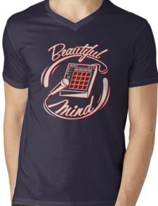 Beautiful Mind Mens V-Neck T-Shirt