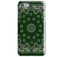 Hunter Green Hanky,Handkerchief iPhone Case/Skin