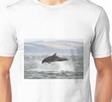 Dolphin in Stormy Seas Unisex T-Shirt