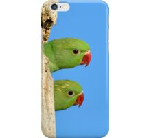 Two heads are better than one iPhone Case/Skin