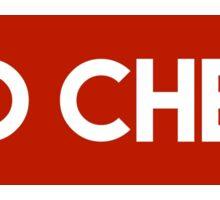 Red Cheer Sticker