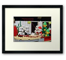 Not The Elves You Are Looking For Framed Print