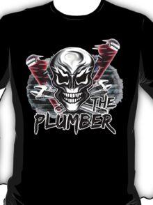 """Plumber Skull 1: """"The Plumber"""" T-Shirt"""