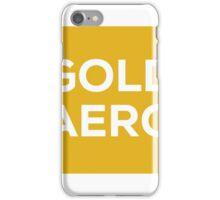 Gold Aerobics iPhone Case/Skin