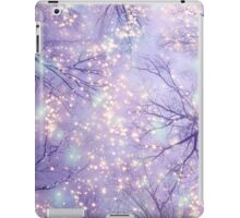 Each Moment of the Year Has It's Own Beauty (Tree Silhouettes) iPad Case/Skin