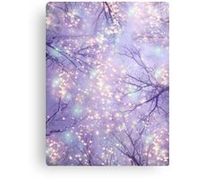 Each Moment of the Year Has It's Own Beauty (Tree Silhouettes) Canvas Print