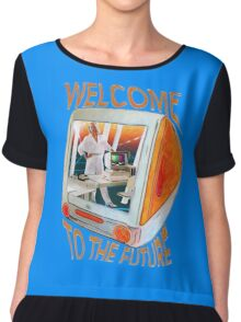 Welcome to the Future Chiffon Top