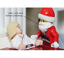 I Am Your Father Christmas Photographic Print