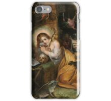Frans Francken the Younger  The Penitent Mary Magdalene visited by the Seven Deadly Sins,  iPhone Case/Skin