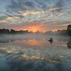 Heron Pond Sunrise by Kasia Nowak