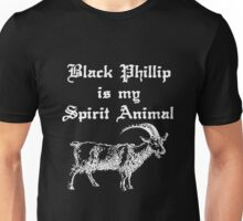 BLACK PHILLIP IS MY SPIRIT ANIMAL - LIVE DELICIOUSLY Unisex T-Shirt