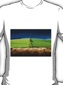 Brecon field south Wales T-Shirt