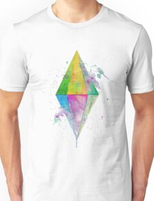 Watercolor Plumbob - No Background Unisex T-Shirt