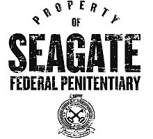 Seagate Federal Penitentiary Photographic Print