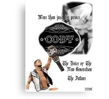 """SSW """"The Prince"""" Canvas Print"""