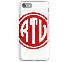 RTV monogram iPhone Case/Skin