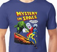 Mistery in Space vintage Unisex T-Shirt