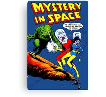 Mistery in Space vintage Canvas Print