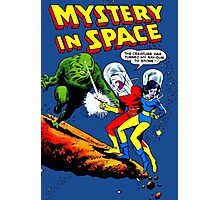 Mistery in Space vintage Photographic Print