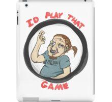 Id buy that sticker iPad Case/Skin
