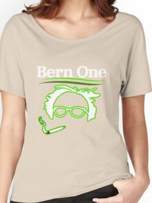 BERN ONE!! SMOKE 4 BERNIE - 2016! 410 BERNIE SANDERS Women's Relaxed Fit T-Shirt