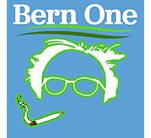 BERN ONE!! SMOKE 4 BERNIE - 2016! 410 BERNIE SANDERS Photographic Print