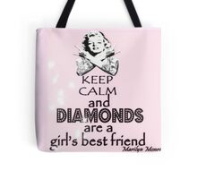 Keep Calm Theory - MARILYN DIAMOND Tote Bag