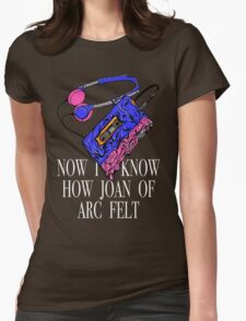 Joan of Arc Womens Fitted T-Shirt