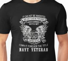 I Own It Forever The Little Navy Veteran T Shirt Unisex T-Shirt
