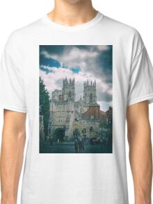 York Minster and Bootham Bar Classic T-Shirt
