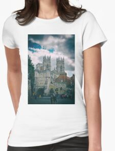 York Minster and Bootham Bar Womens Fitted T-Shirt