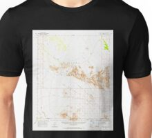 USGS TOPO Map Arizona AZ Childs Valley 314467 1965 62500 Unisex T-Shirt