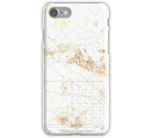USGS TOPO Map Arizona AZ Childs Valley 314467 1965 62500 iPhone Case/Skin