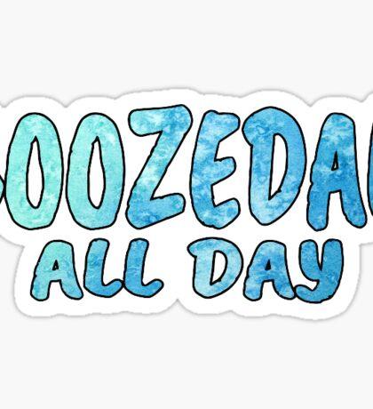 Boozedan All Day Sticker