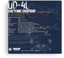 UD-4L Cheyenne Dropship Canvas Print