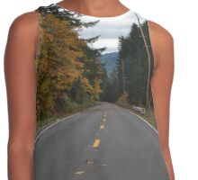 Autumn Road Contrast Tank
